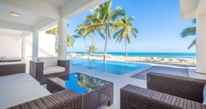 Modern Luxury Beach front Villa for Rent in Cabarete